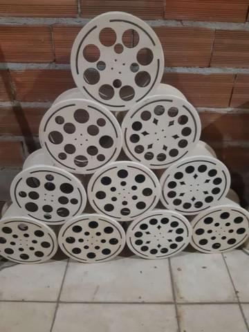 Carretilha de madeira para pipa