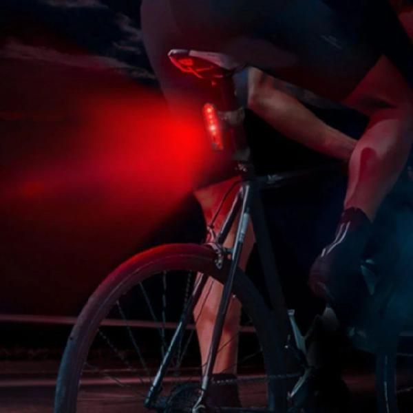 Lanterna bike led + usb cable (recarregável)