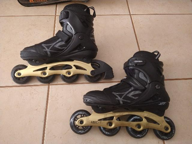 Patins oxer byte abec 7 - in line adulto - usado