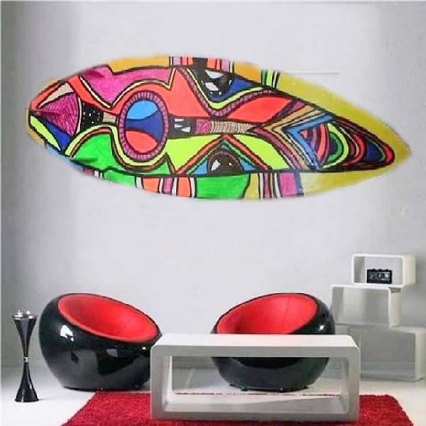 Pranchas surf arte decoração casa e escritório top