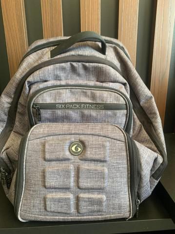 Mochila six pack fitness bag