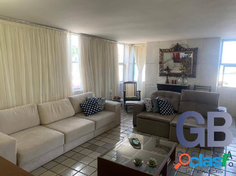 Apt no edf acapulco duplex na av boa viagem com 240m² 2v cobertas