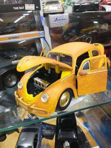 Bumblebee fusca transformers miniatura de metal volkswagen