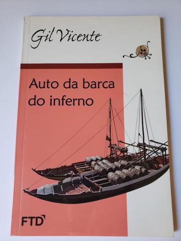 Livro auto da barca do inferno, de gil vicente.