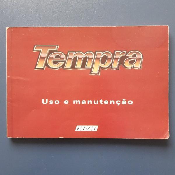 Manual tempra 1994 s/ preenchimento