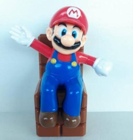 Super mario bros - waving mario - nintendo (edição