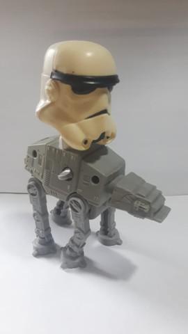 Veiculo star wars at-at (o dispositivo que faz ele andar,
