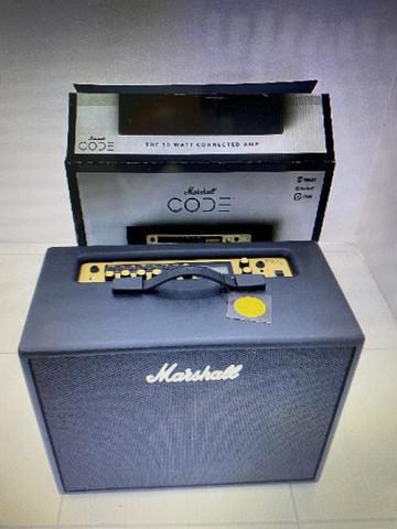 Amplificador marshall code 50 combo 50w bluetooth 220v