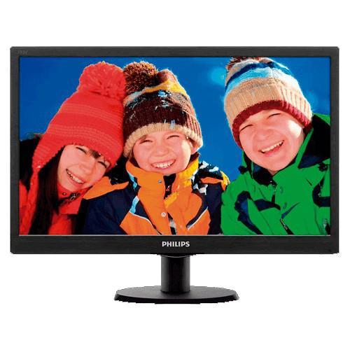 "Monitor lcd philips - iluminação led - 19.5"" -"