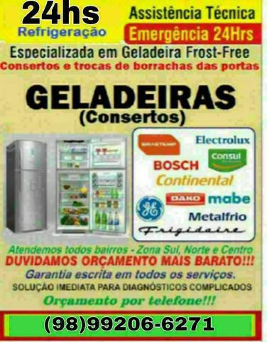 Refrigeração geladeiras e freezer