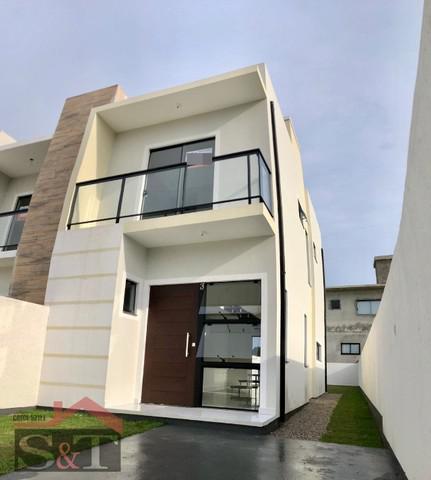 S&t/. ótima casa duplex com 2 suítes e escritura pública!