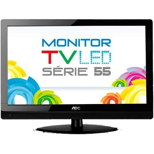 """Tv monitor aoc led 23"""" widescreen full hd t2355we -"""