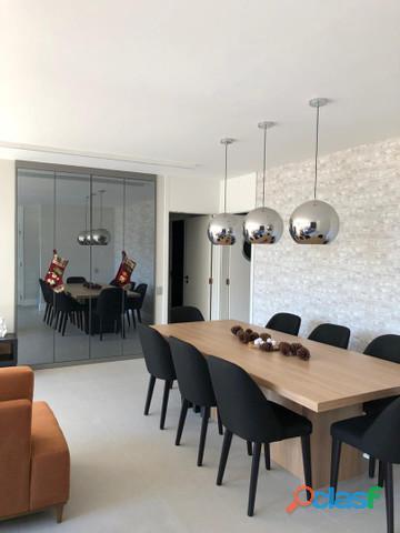Apartamento mobiliado 3 dormitórios 125 m² no bairro jardim   santo andré.
