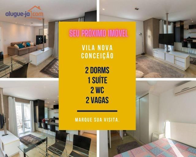 Apartamento vila nova conceição, alugar, 2 dorms, 1