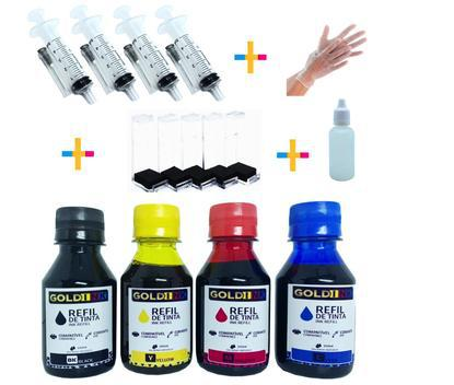 450 ml kit tinta compatível recarga cartuchos impressora hb