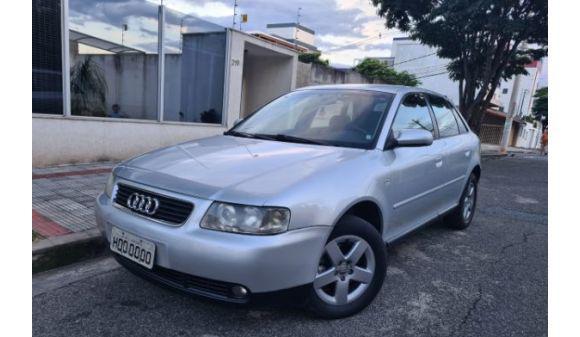 Audi a3 1.8 1.8 5p mec. 04/04 prata