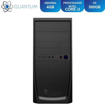 Computador pc cpu intel core i3 ram 4gb hd 500gb quantum