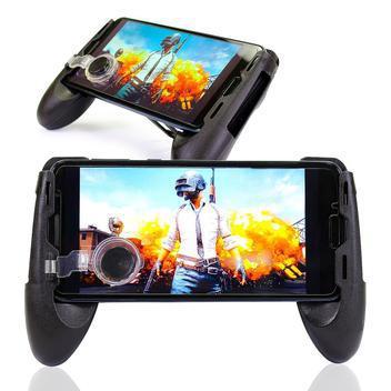 Controle game-pad com controle analógico celular suporte -