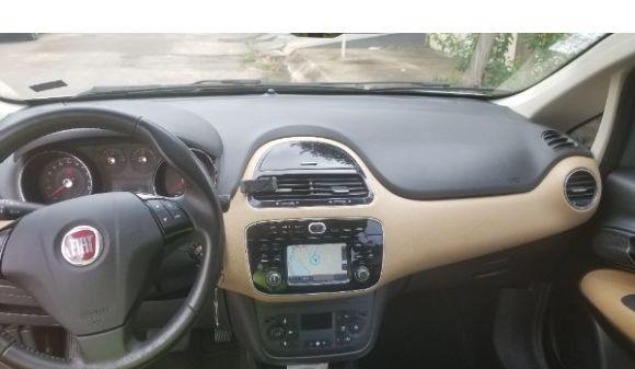 Fiat linea 1.8 absolute 1.9/1.8 flex dualogic 4p 15/16 cinza