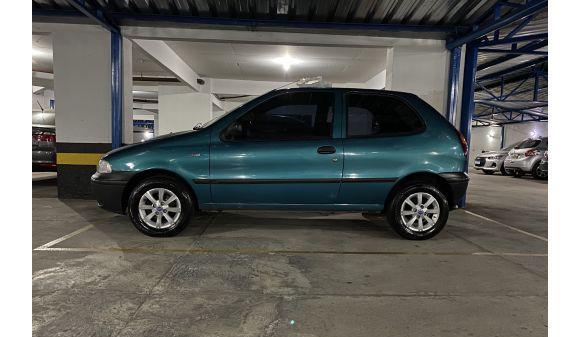 Fiat palio 1.0 edx 1.0 mpi 2p 96/96 verde