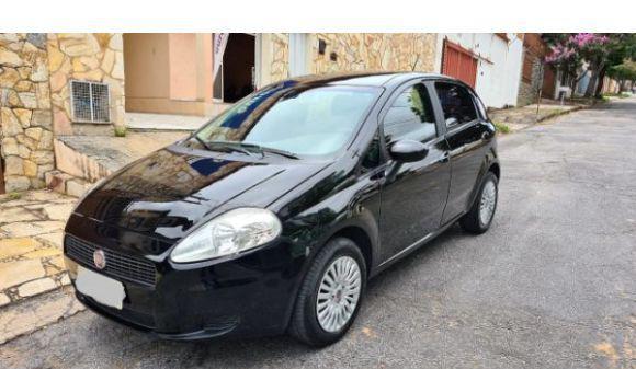 Fiat punto 1.4 attractive 1.4 fire flex 8v 5p 11/12 preto