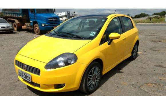Fiat punto 1.8 sporting 1.8 flex 8v/16v 5p 12/12 amarelo