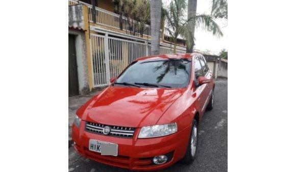 Fiat stilo 1.8 dualogic 1.8 flex 8v 5p 08/08 vermelho