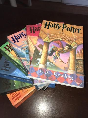Harry potter coleção completa livros