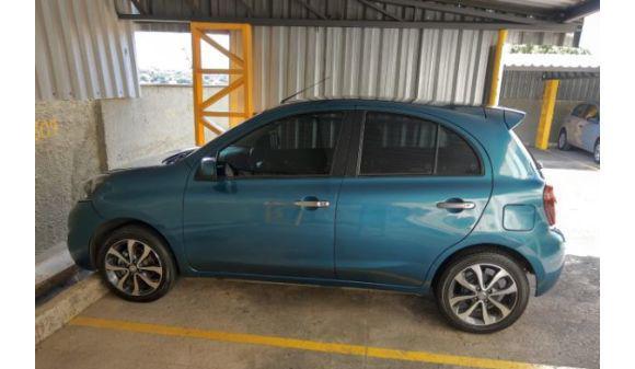 Nissan march 1.6 sl 1.6 16v flex fuel 5p 15/15 azul
