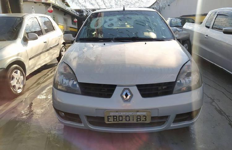 Renault clio sedan privilége 1.6 16v (flex) / 2008