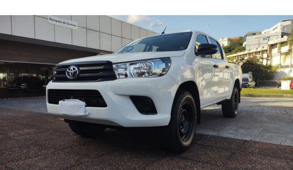 Toyota hilux cd 2.8 4x4 2.8 diesel mec. 19/20 branco