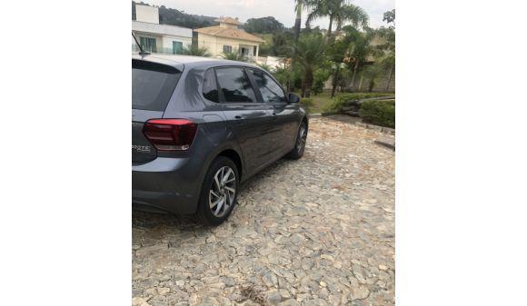 Volkswagen polo hatch 1.0 polo highline tsi 1.0 18/19 cinza