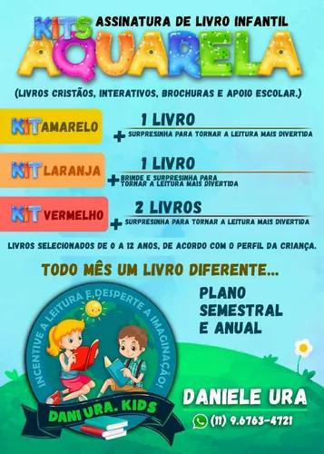 Assinatura de livros infantis e material apoio escolar..