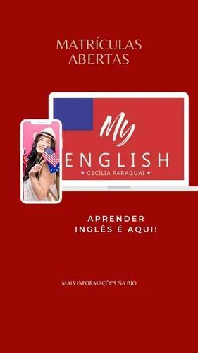 Aulas particulares de inglês online ou presencial