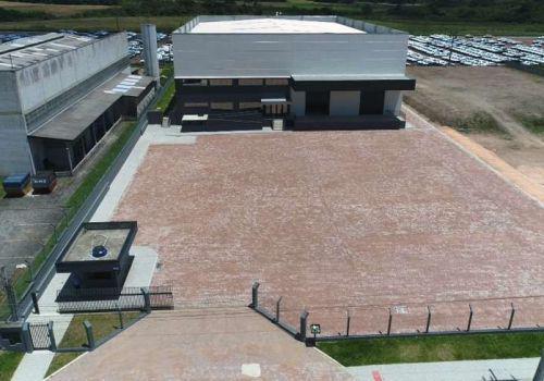 Barracão industrial para alugar
