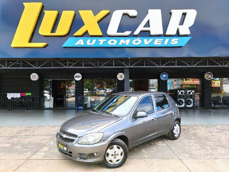 Chevrolet celta 1.0 8v cinza 2012/2013 - brasília 1365838