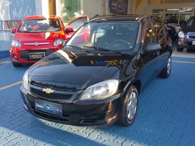 Chevrolet celta 1.0 ls 8v preto 2011/2012 - campinas 1326430