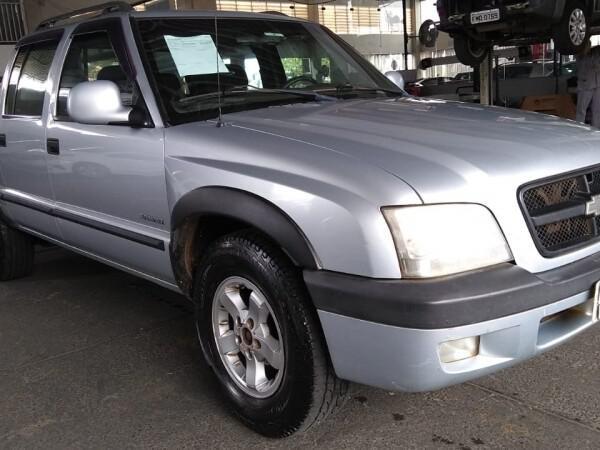 Chevrolet s10 2.4 advantage 8v prata 2008/2008 - jaguariúna