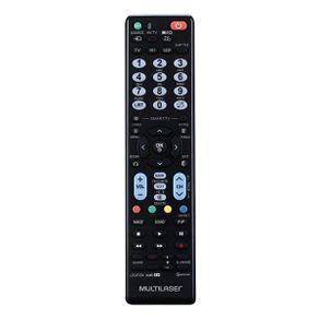 Controle remoto tv lg preto multilaser - ac316