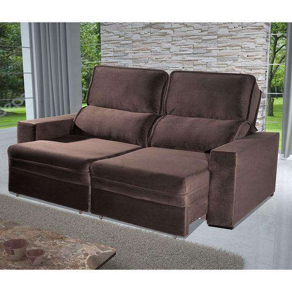 Estofado retrátil e reclinável egeu 230 assento com molas