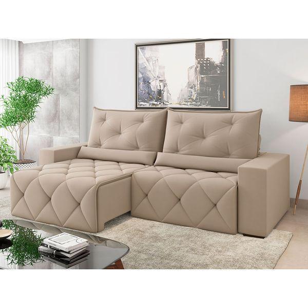 Estofado retrátil e reclinável havana 250cm - best house