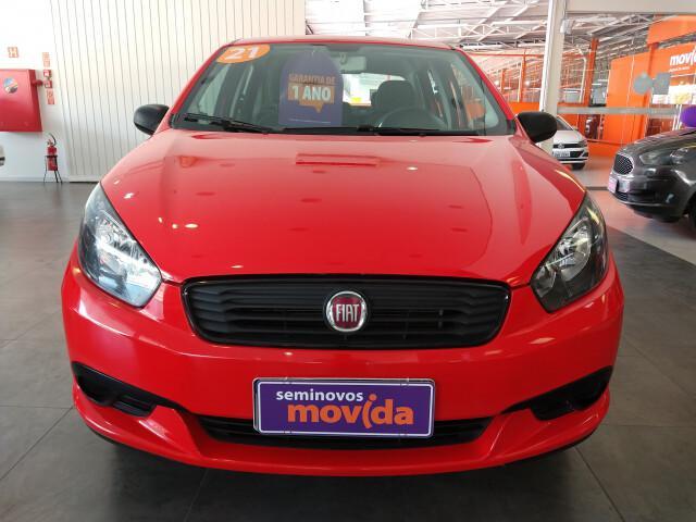Fiat grand siena 1.4 8v vermelho 2020/2021 - bauru 1448721
