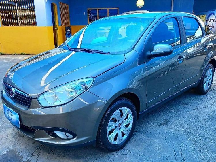 Fiat grand siena 1.4 attractive 8v cinza 2015/2016 -