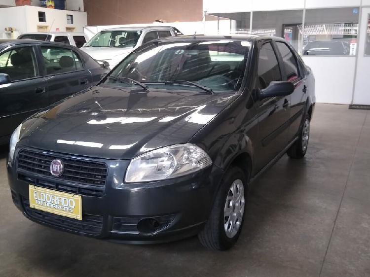 Fiat siena 1.0 elx 8v cinza 2010/2011 - goiânia 1363067