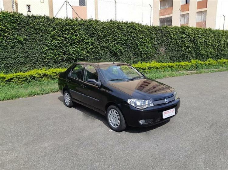 Fiat siena 1.3 elx fire 8v preto 2004/2005 - campinas