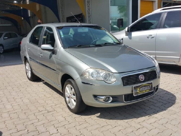 Fiat siena 1.4 elx attractive 8v cinza 2008/2009 - campinas