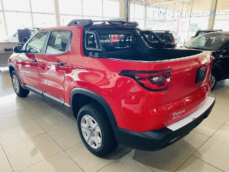 Fiat toro 1.8 evo endurance vermelho 2021/2021 - jaguariúna