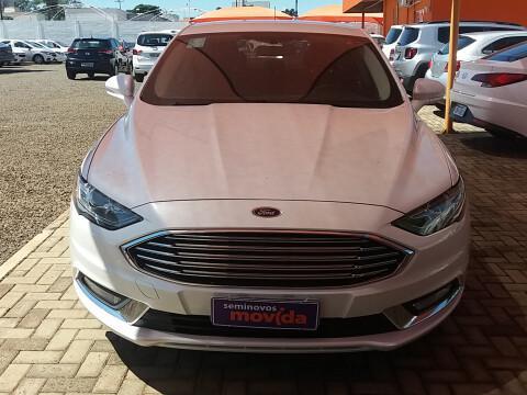 Ford fusion 2.0 sel 16v branco 2018/2018 - piracicaba
