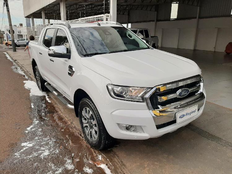 Ford ranger 3.2 limited 20v branco 2018/2019 - rio verde
