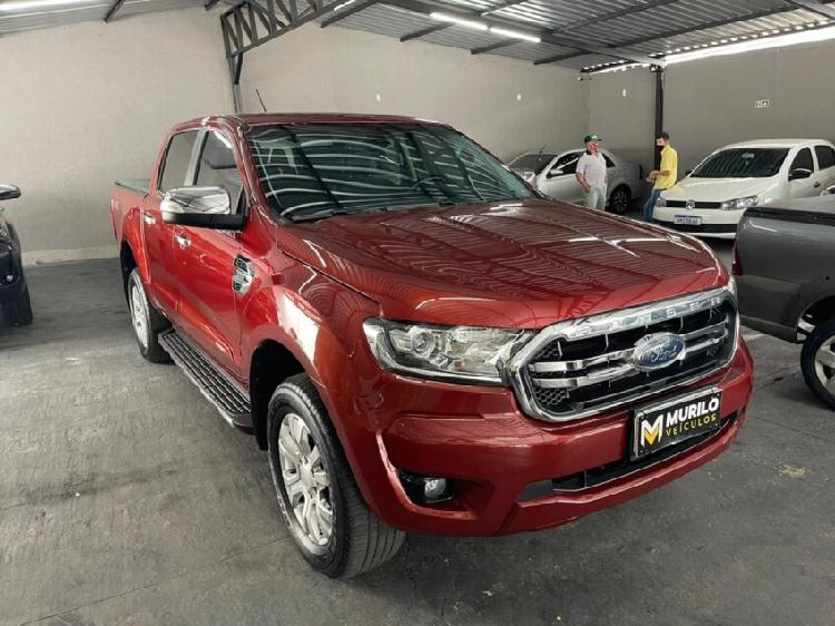 Ford ranger 3.2 xlt 20v vermelho 2019/2020 - trindade